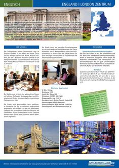 Sprachurlaub London Zentrum 2014