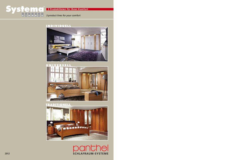Systema classic 2012 von Panthel Möbelwerk GmbH & Co