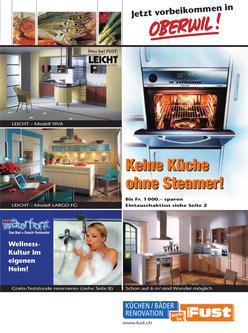 ausstellk chen in leicht k chen von fust. Black Bedroom Furniture Sets. Home Design Ideas
