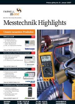 Messtechnik Katalog Teil 1 2006