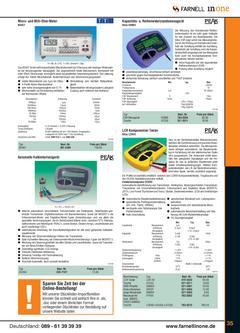 Messtechnik Broschüre Teil 2 2006