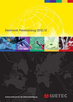 Wetec-Hauptkatalog 2012 / 2013