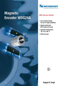 Magnetic Encoder WDG24A