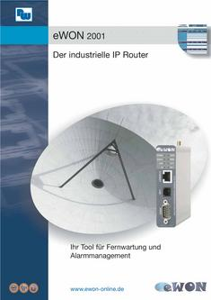 eWON 2100 Flyer - Der industrielle IP Router