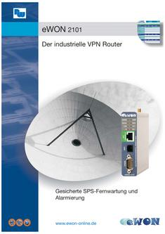 eWON 2101 Flyer - Der industrielle VPN Router