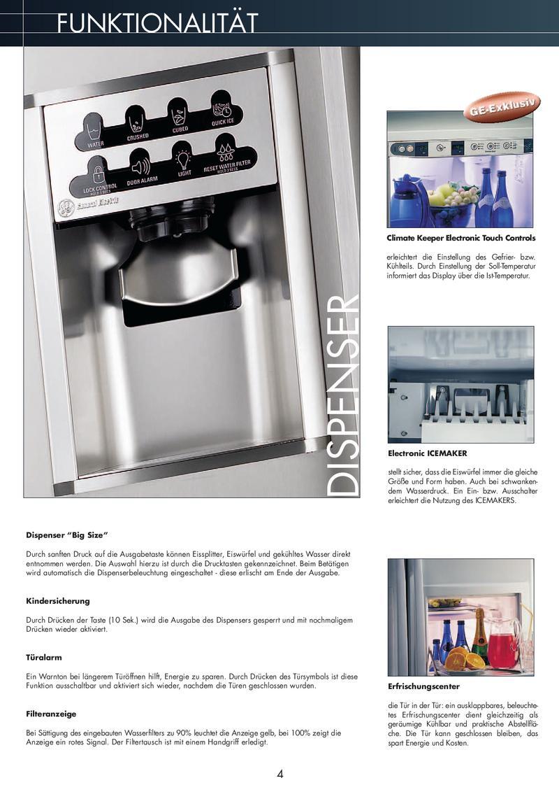 General Electric Kühlschränke 2006 von Cool Giants Deutschland