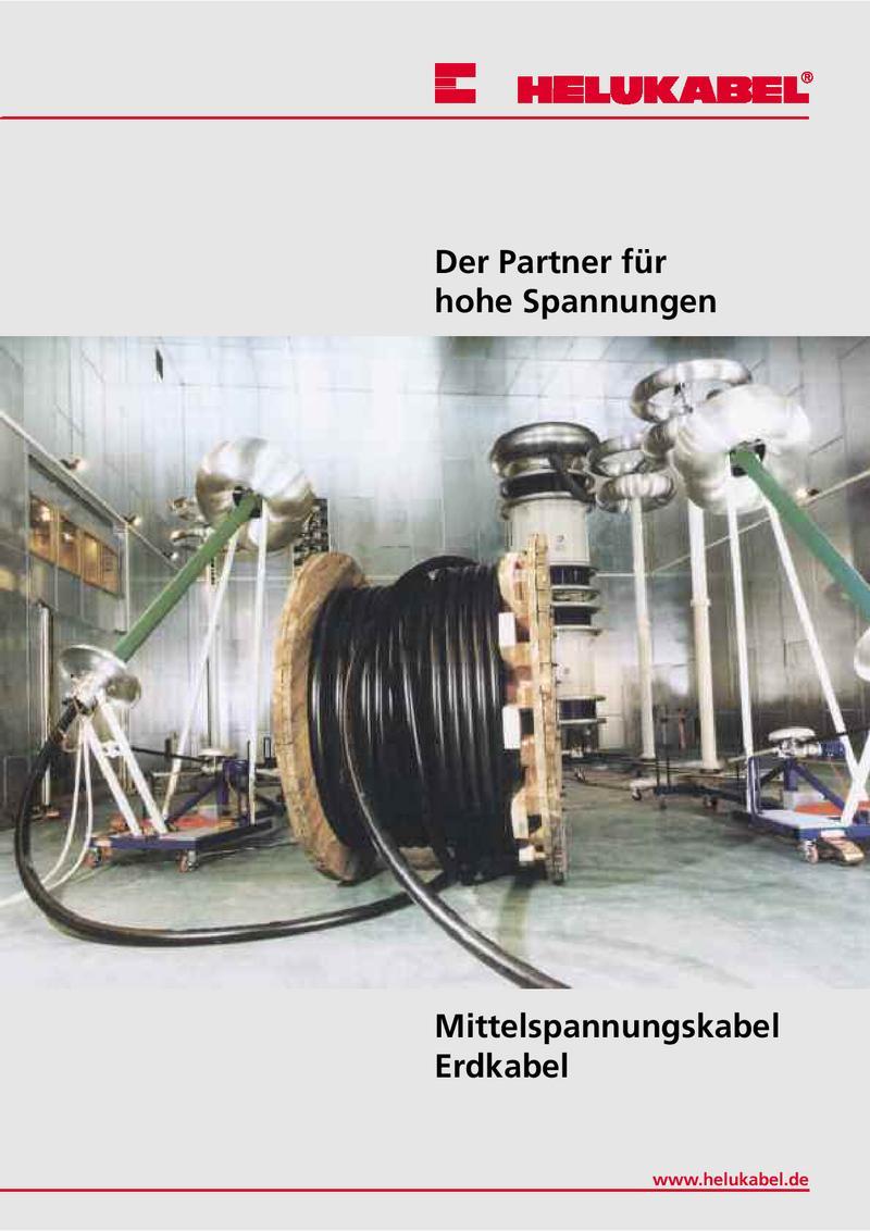 Mittelspannung Erdkabel von Helukabel Deutschland