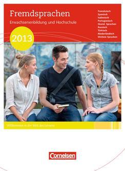 Erwachsenenbildung und Hochschule Fremdsprachen 2013
