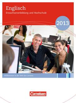 Erwachsenenbildung und Hochschule Englisch 2013
