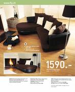 sofa braun in m bel dekoration 2009 2010 von fly. Black Bedroom Furniture Sets. Home Design Ideas