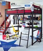 hochbett 140 x 200 in m bel dekoration 2010 2011 von fly. Black Bedroom Furniture Sets. Home Design Ideas