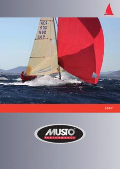 MUSTO YACHTING 2007 Teil 1