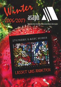 Asaph Winter 2006 - News & Inside