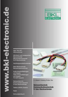 Netzwerktechnik / Kommunikationstechnik / D-Sub-Steckverbinder