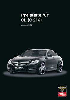 CL-Klasse Tuning Preisliste 2014