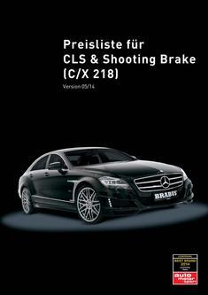 CLS-Klasse Tuning Preisliste 2014