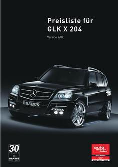 BRABUS GLK V8 Datenblatt 2014