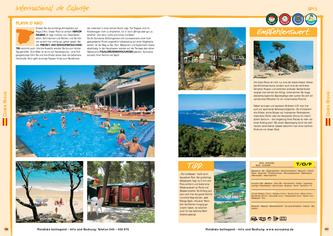 Camping International de Calonge Playa d'Aro Costa Brava