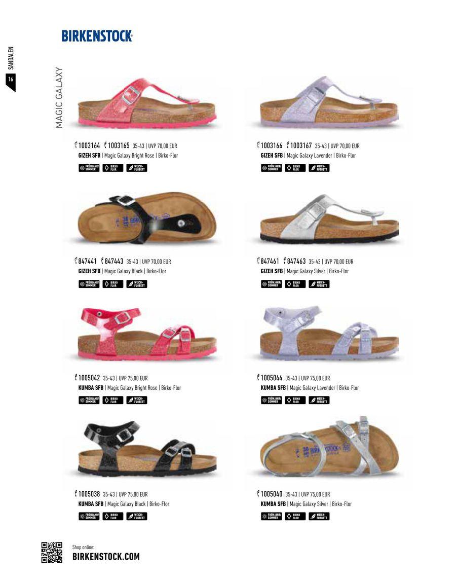 free shipping fb95b cd611 Seite 20 von Birkenstock Schuhe Kollektion Frühjahr/Sommer 2017