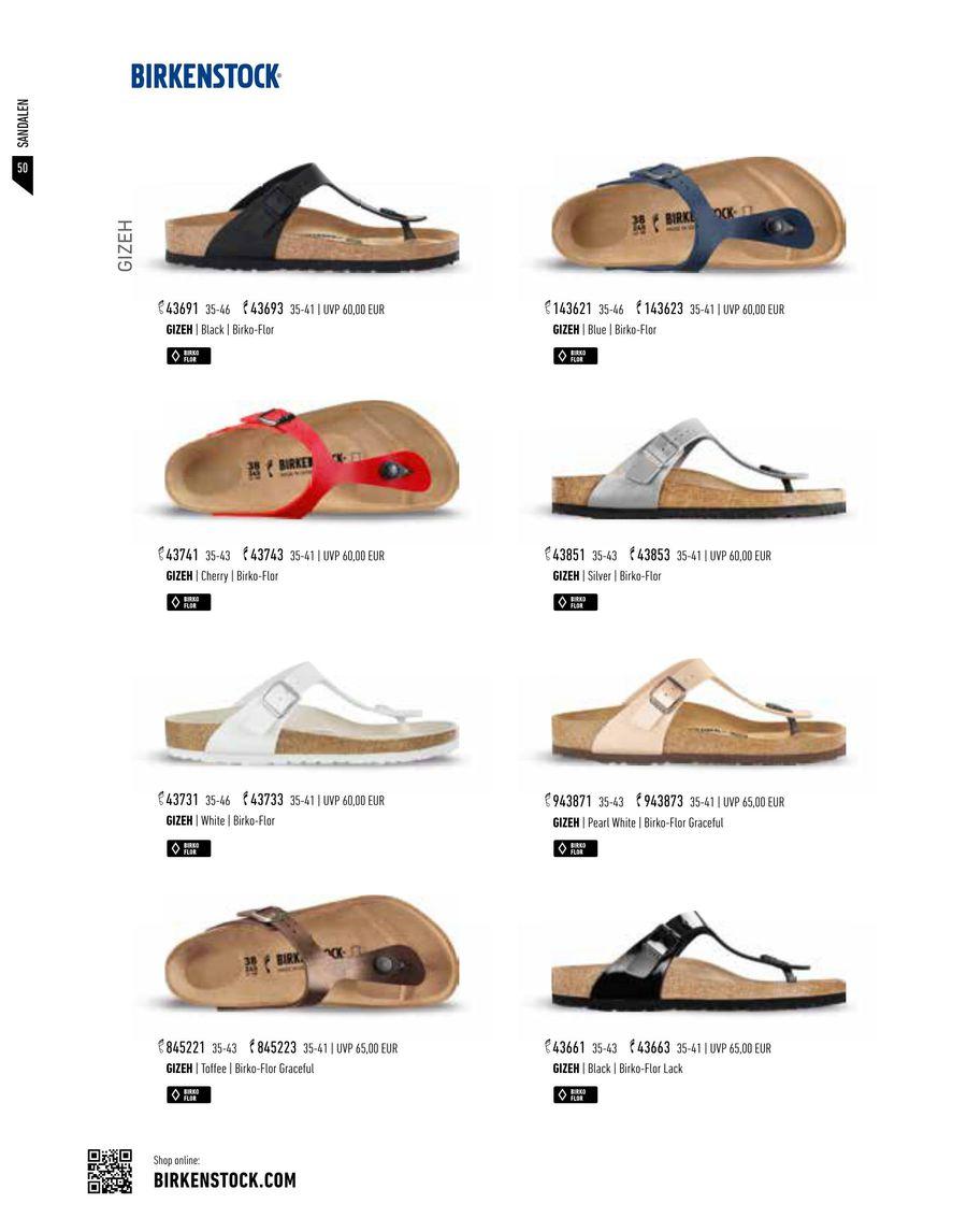 Seite 52 von Birkenstock Schuhe Kollektion FrühjahrSommer 2017