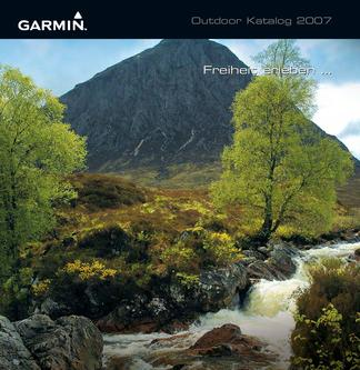 "Garmin ""OUTDOOR"" Katalog 2007"