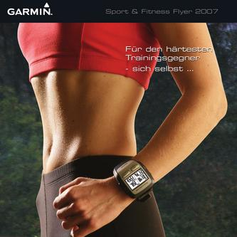 "Garmin ""SPORT UND FITNESS"" Flyer 2007"
