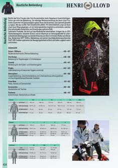 Wassersport Bekleidung 2011/2012