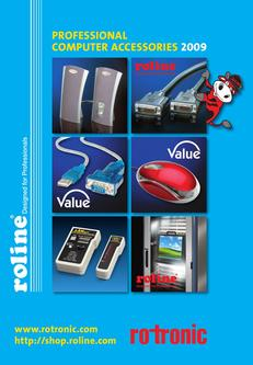 Roline Professional Computer Accessories 2009