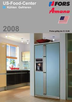 einbau food center in amana us food center 2008 von fors liebherr. Black Bedroom Furniture Sets. Home Design Ideas