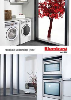 Blomberg Produktsortiment 2012