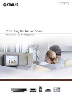 Home Cinema- und HiFi-Komponenten