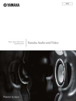 Yamaha Audio und Video Sommer 2010