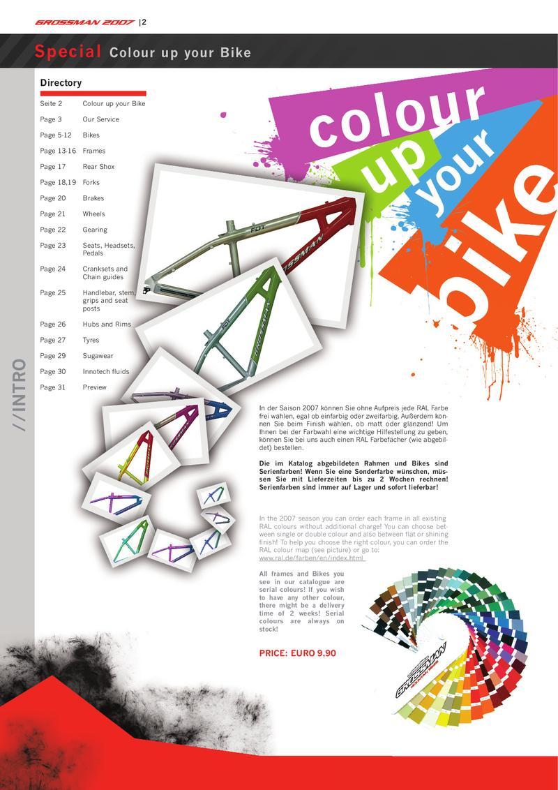 Grossmanbikes Katalog 2007 von GMP Sporthandels GmbH