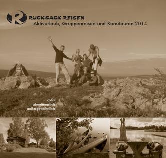 Sommerkatalog – Aktivurlaub und Gruppenreisen 2014