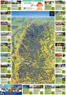 Panoramic Map Black Forest 2014 (Englisch)