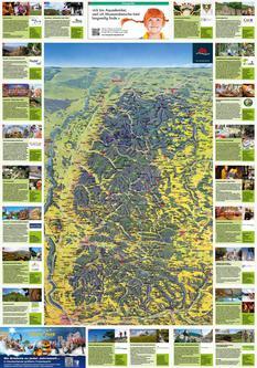 Panoramakarte mit Ausflugstipps 2014