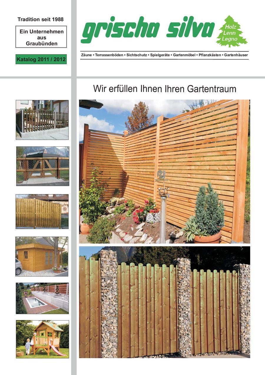 holz im garten 2011 von grischa silva ag - Menz Holz Katalog