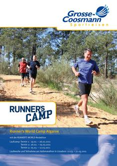 Runner's World Camp 19.02.2011 - 21.03.2011