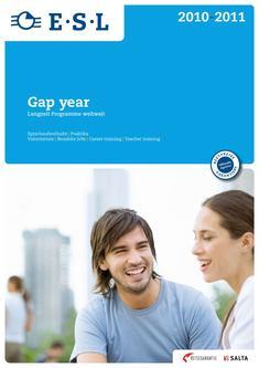 Gap year 2010-2011