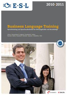 Business Language Training 2010-2011