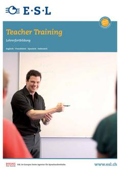 Teacher Training 2012