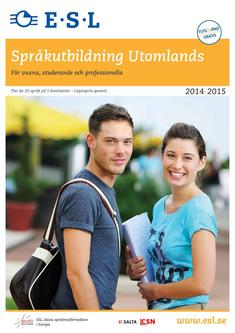 Språkutbildning Utomlands 2014/2015 (Schwedisch)