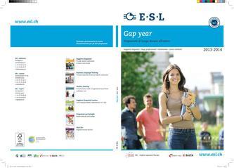 Gap year Programmi di lunga durata all'estero 2013/2014 (Italienisch)