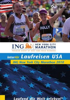 Laufreisen ING New York City Marathon 2010