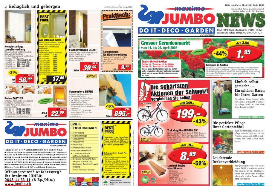 Www Jumbo Ch Gartenmobel In Jumbo News Von Jumbo