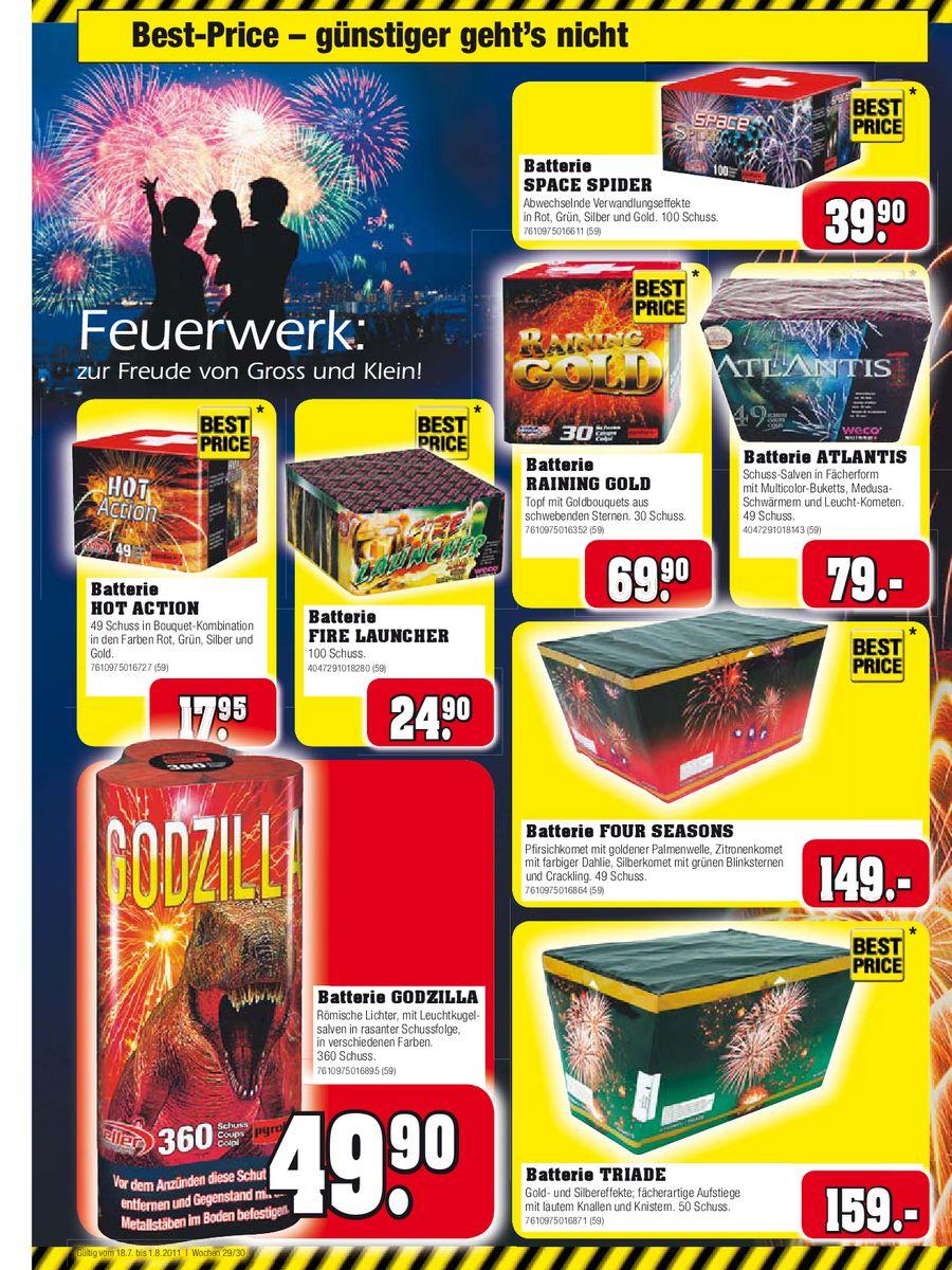 Feuerwerk 2011 Von Jumbo