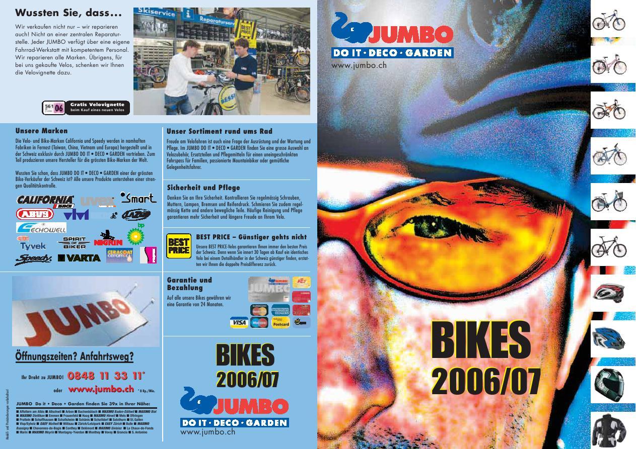 Bikes 2006/2007 von Jumbo