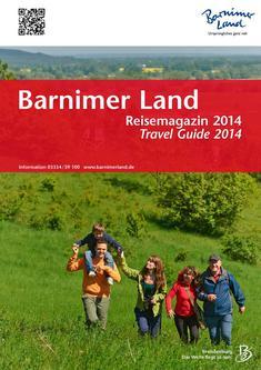 Reisemagazin Barnimer Land 2014, Seiten 1-29