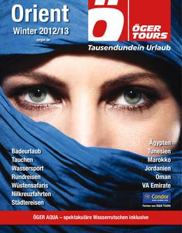 Orient - Winter 2012/2013 (November - April)
