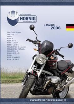 Motorradzubehör Katalog 2008